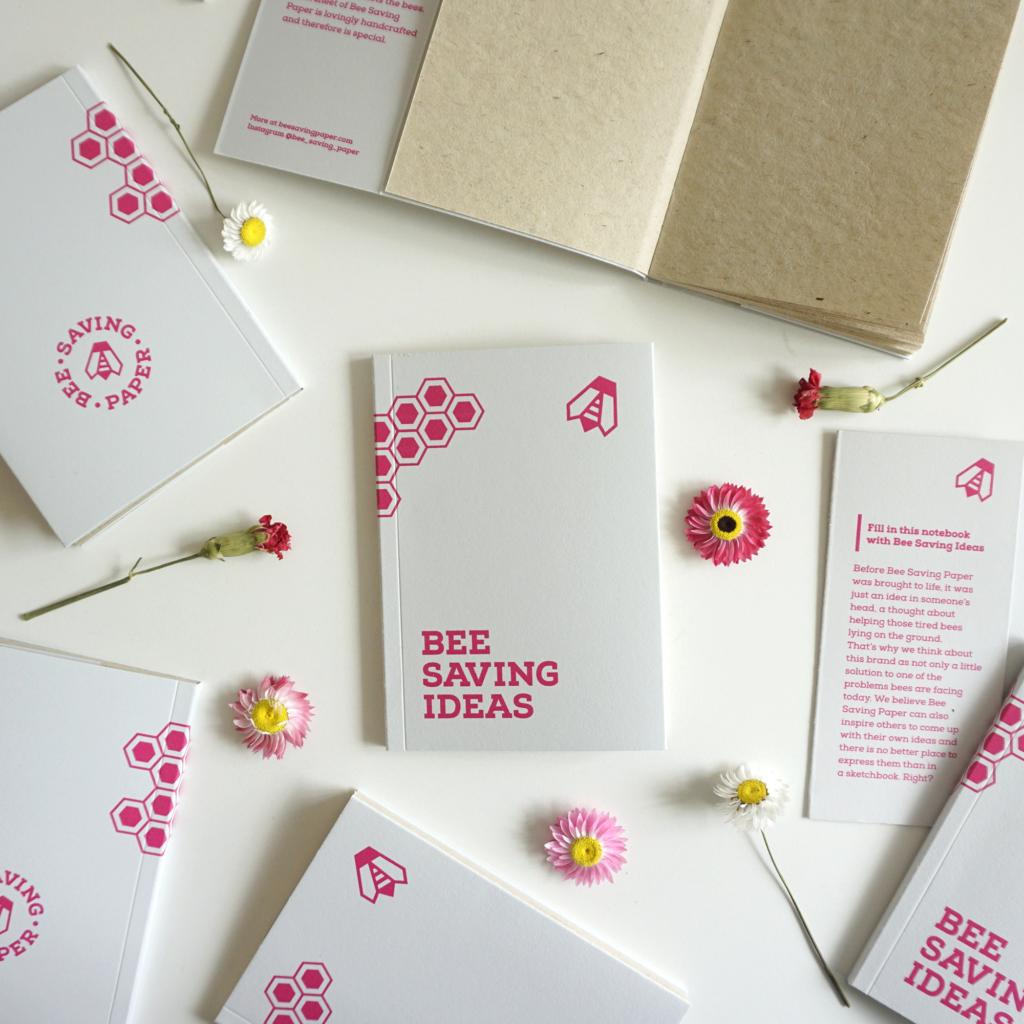 Bee Saving Paper : la carta che salva la vita alle api.