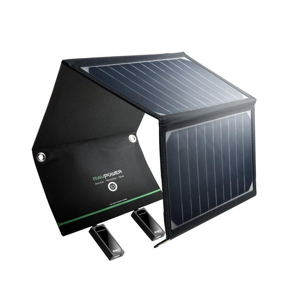 Caricatore solare -  Gadgets sostenibili per smartphone