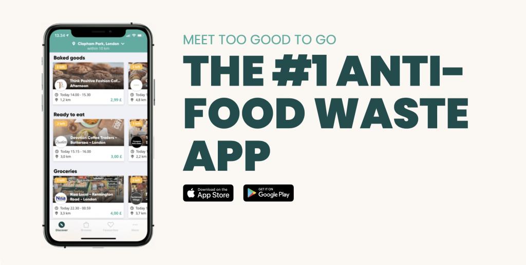 l'App contro lo spreco alimentare